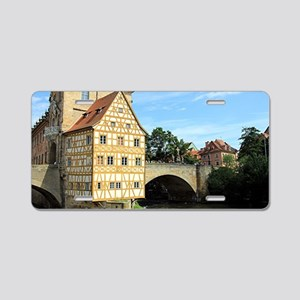 Old Town Hall, Bamberg, Ger Aluminum License Plate