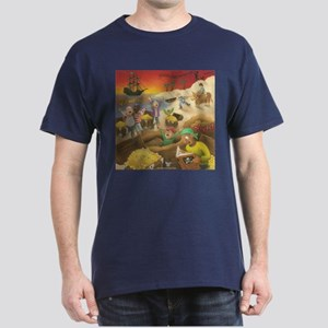 Pirate Treasure Dark T-Shirt