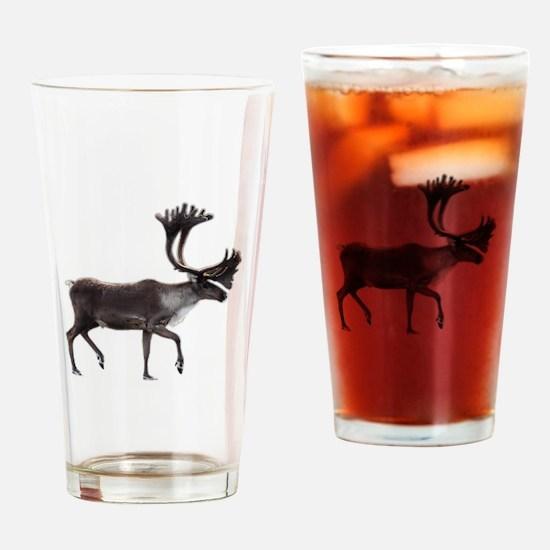 Unique Caribou Drinking Glass