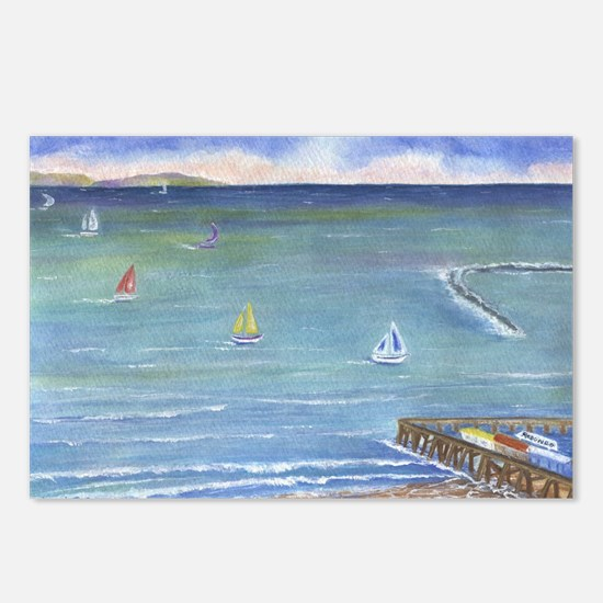 Catalina to Redondo Postcards (Package of 8)