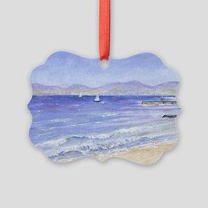 Redondo to Malibu Picture Ornament