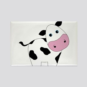 Cute Black and White Cow Magnets