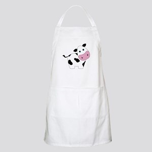 Cute Black and White Cow Apron
