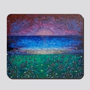 Fireflies Mousepad