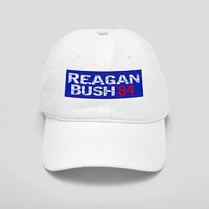 Reagan 84 - distressed Baseball Cap