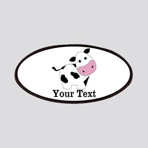 Personalizable Black White Cow Patches