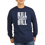 Scamnesty Bill Long Sleeve Dark T-Shirt