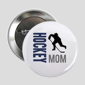 "Hockey Mom 2.25"" Button"