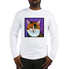 Calico Cat Long Sleeve T-Shirt