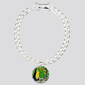 If Toucan You Can!! Charm Bracelet, One Charm