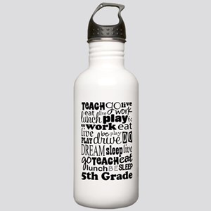 5th Grade Teacher Quot Stainless Water Bottle 1.0L