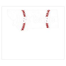 Fast Pitch Softball Baseball First Base S Wall Art Poster