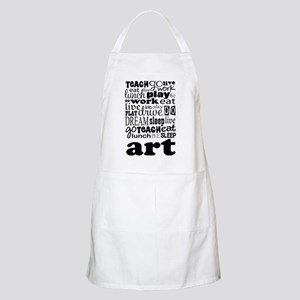 Art Teacher quote Apron