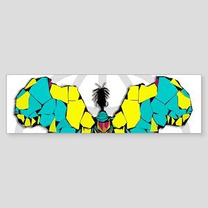 African Butterfly Bumper Sticker