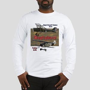 Dogfighters: SE5 vs Fokker D.V Long Sleeve T-Shirt