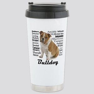Bulldog Traits Travel Mug