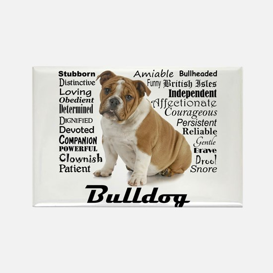 Bulldog Traits Magnets