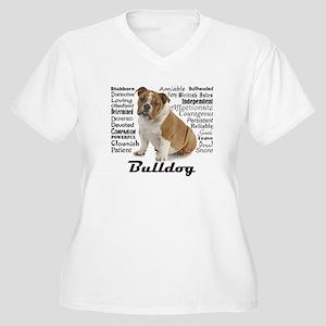 Bulldog Traits Plus Size T-Shirt