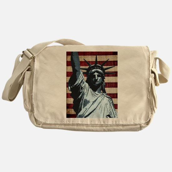 Liberty Flag Messenger Bag