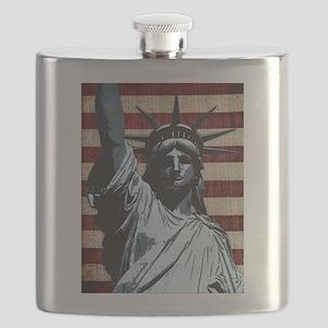 Liberty Flag Flask