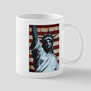 Liberty Flag Mugs