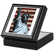 Liberty Flag Keepsake Box