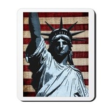 Liberty Flag Mousepad