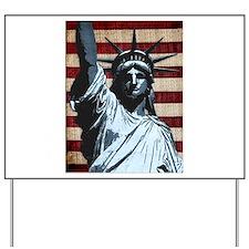 Liberty Flag Yard Sign