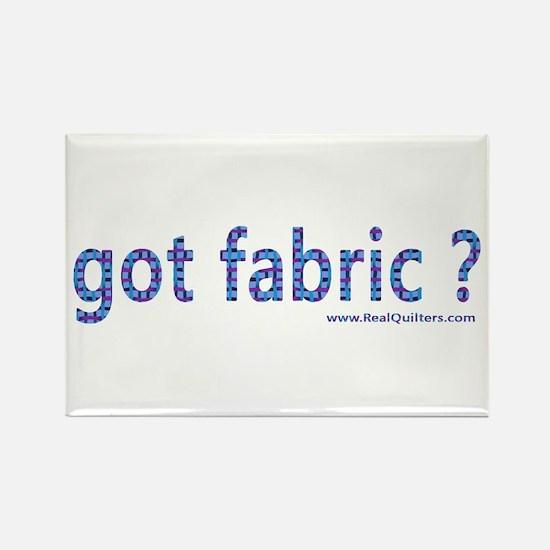 Got Fabric? Rectangle Magnet