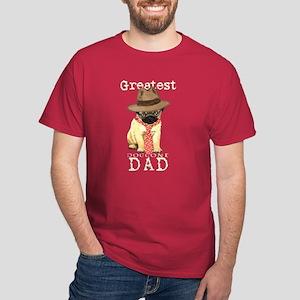 Pug Dad Dark T-Shirt