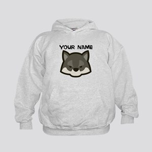 Custom Wolf Hoodie