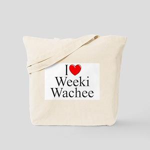 """I Love Weeki Wachee"" Tote Bag"