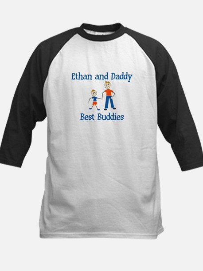 Ethan & Daddy - Best Buddies Kids Baseball Jersey