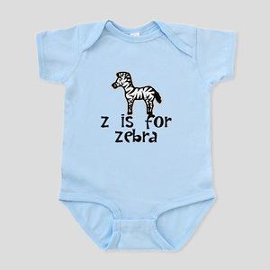 Z Is For Zebra Body Suit