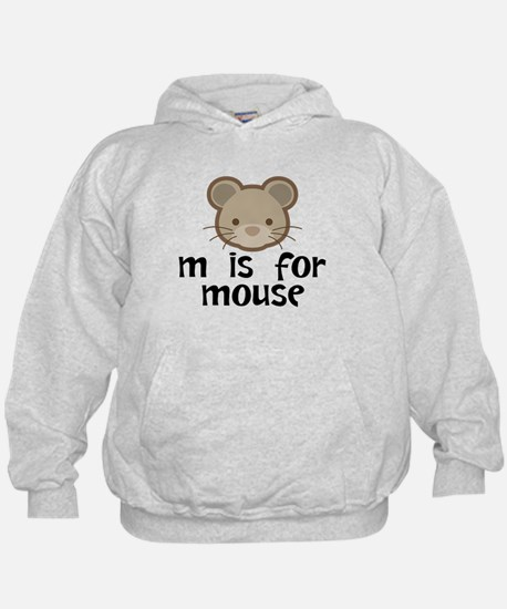 M Is For Mouse Hoodie