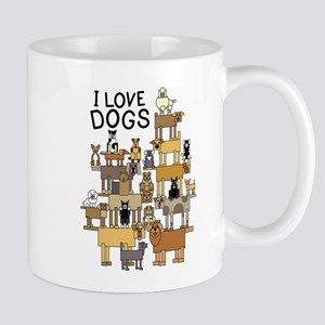I LOVE DOGS Mugs
