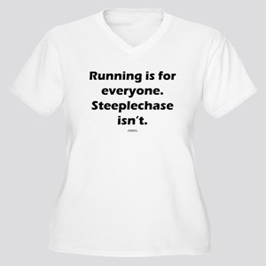 Steeplechase isn't Women's Plus Size V-Neck T-Shir