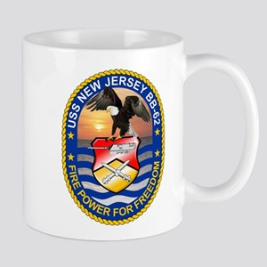 USS New Jersey BB-62 Mugs