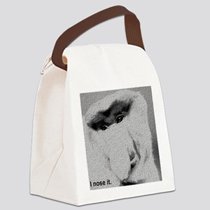I nose it. Canvas Lunch Bag