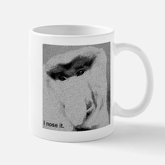 I nose it. Mugs