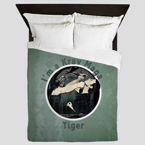 Krav Maga Tiger Queen Duvet