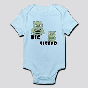 Big Sister Owls Body Suit