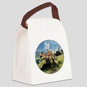 Ichthyovenator Dinosaur Canvas Lunch Bag