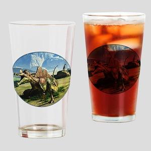 Ichthyovenator Dinosaur Drinking Glass