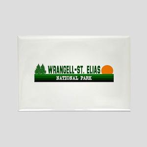 Wrangell-St. Elias National P Rectangle Magnet