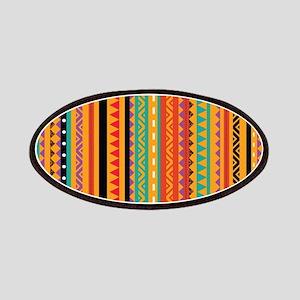 Aztec Patterns Patches
