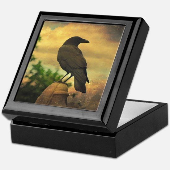 Cute Raven Keepsake Box
