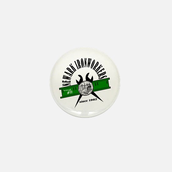 Cute Ironworkers Mini Button
