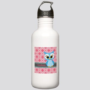 Beautiful Teal Owl Per Stainless Water Bottle 1.0L