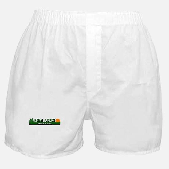 Kenai Fjords National Park Boxer Shorts